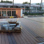 deck off 2nd floor living space complete